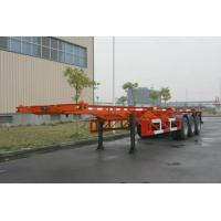 Buy cheap Custom 40ft Skeletal ISO Container Semi Trailer Chassis HZZ9400TJZP product
