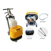 Buy cheap Stone Concrete 240V 6 Heads 4KW Marble Terrazzo Floor Grinder For Facotry product