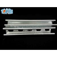 Buy cheap 41x41mm /41X21mm  Unistrut Channel , Pre-galvanized / Hot Dipped Galvanized product