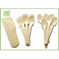 Buy cheap Retail eco friendly disposable cutlery 100 Forks 100 Knives 100 Spoons product