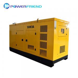 China 3 Phase Cummins Generator 4 Stroke 6 Cylinder 400KW 500KVA Diesel Generator on sale