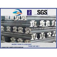 Buy cheap GB6KG GB9KG GB12KG Steel Crane Rail / Gantry Crane Track For Railway Construction product