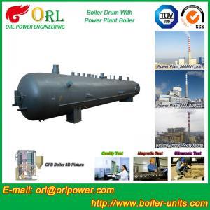 Buy cheap Oil Industry Heating Boiler Mud Drum , Compact ASTM Mud Drum In Boiler product