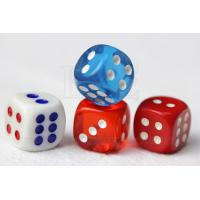 Buy cheap Concealable Code Dice Cheating Device / 6 Sides Casino Games Dice product
