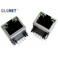 Buy cheap Ethernet Router RJ45 Connector With Magnetics 10 / 100 Through Hole Mounting Type product