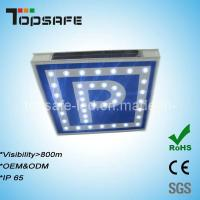 Buy cheap CE,  Certified LED Solar Traffic Parking Sign product