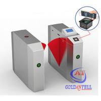 Buy cheap Popular 2D Qr Code Flap Barrier Gate With Software Sdk / Entrance Turnstile from wholesalers