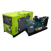 Quality Rated 40kw 50kva low fuel consumption power genset , rental industrial generator for sale