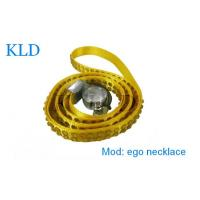 Buy cheap Yellow E-Cig Accessories , E Cig Battery Nylon Necklace For Ego E Cigarette from wholesalers