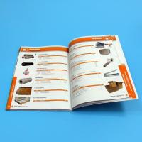 Buy cheap Paper / Paperboard Perfect Binding Catalogue Printing Service Customized A4 / A3 / A5 product