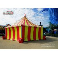 Buy cheap 8m Circus Tent and  High Peak Tents with  Color  Cover For Horse Event product