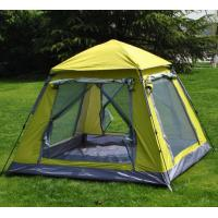 Buy cheap Professional Various Color 4 Person Camping Tent 3.2sqm With Aluminum Pole product