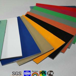 Quality Different Kinds ACP/aluminum composite panel for shop decoration for sale