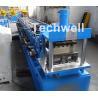 Buy cheap Light Steel Stud Roll Forming Machine , 5.5 Kw Industrial Metal Roll Forming Machine from wholesalers