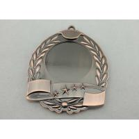 China  High quality Zinc Alloy / Pewter 3D Die Cast Medals for Sport Meeting, Army, Awards with Antique Copper Plating  for sale