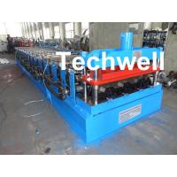 Buy cheap CE Approved Floor Deck Roll Forming Machine for Making 0.8 --1.0 mm Thickness Steel Structure product