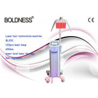 Buy cheap hair loss treatment Laser Hair Growth Machines Rejuvenation Fast Restoring Bald Head Natural product