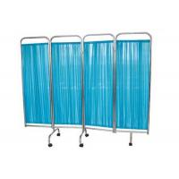 Buy cheap Stainless Steel 4 Panel Hospital Privacy Screen, Ward Room Hospital Folding Screen (ALS-WS01) product