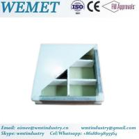 Buy cheap Hollow glass magnesium manual panel for clean room anti-fire A class product