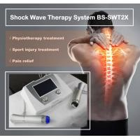 China Excellent Back Pain Relief Shockwave Therapy Machine , Shockwave Physiotherapy Machine on sale