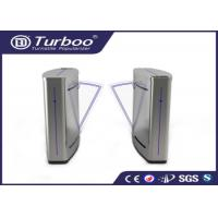 Buy cheap Semi - Automatic Flap Barrier Turnstile Gate Access Control Auto Reset Function product