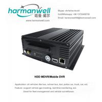 Buy cheap New outlook 4ch HD 720P HDD AHD Mobile DVR VEHICLE CCTV product