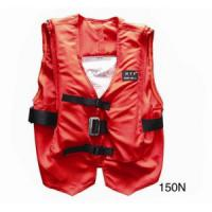 Buy cheap 55cm*60cm Marine Life Saving Equipment Terylene Oxford Textile Self Inflating Life Jacket product