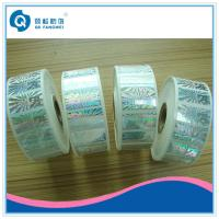 Buy cheap Roll Hologram Labels , Custom Hologram Stickers , Anti-fake 3d Hologram Roll Label product