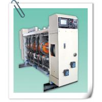 Buy cheap 4 color printing slotting die cutting machine product