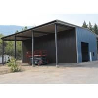 Buy cheap Small Storage Prefab Steel Structure Building Warehouse With Two Cantilever Shed product