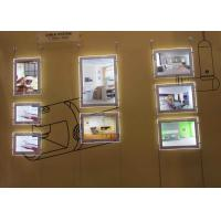 Quality Restaurants Led Acrylic Light Box DisplayDouble Sided A4 Size For  Advertising for sale