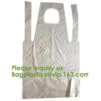 Buy cheap PBAT+PLA Compostable disposable plastic apron,100% Biodegradable & Compostable disposable,Safe and Healthy, bagease, pac product