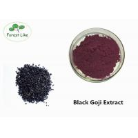 Buy cheap Prevent Cancer Black Goji Extract Powder 15% Anthocyanidins Medical Grade product