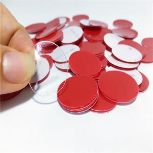 China Waterproof VHB Acrylic Foam Tape , Pressure Sensitive Tape Round Glue Adhesive Dots on sale