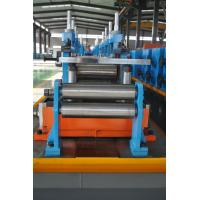 Buy cheap Full Automatic ERW Pipe Mill Production Line Directly Forming 63mm Pipe Diameter product