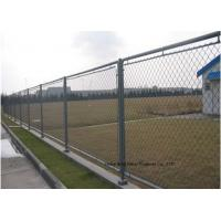Buy cheap Hot Dipped Galvanized Steel Wire Fencing , Residential Metal Chain Link Fence product