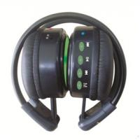 China Fashion Design and Black Wire Mini FM Wireless Headphones with Memory Function on sale