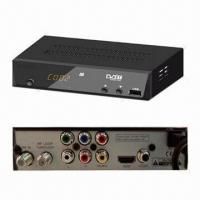 Buy cheap FTA HD DVB-T Receiver, Novatek Solution from wholesalers