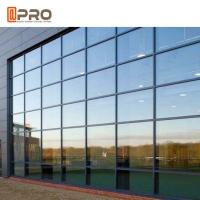 Buy cheap Hidden Framing Coated Glass Curtain Wall System For Exterior High Buildings product