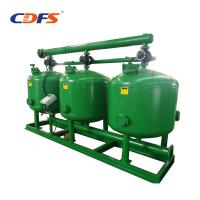 Buy cheap High Flow Rate Automatic Sand Filter 24 - 48 Inch Tank Size Stainless Steel Material product