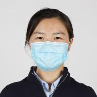 Buy cheap Personal Protection Disposable Medical Mask / Non Woven Fabric Face Mask product