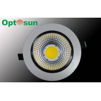 Buy cheap 13W Warm White 1150lm Dimmable LED Downlights / 115mm Adjustable LED Down Light product
