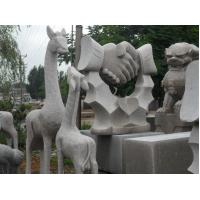 Buy cheap Granite giraffe mother and child statue stone carving product