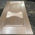 Buy cheap 2.5mm High Density Wood Veneer Door Skins Modern Style 840KG / M3 Density product