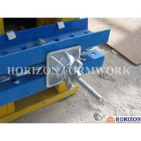 Buy cheap Natrual Colour Shuttering Tie Rod Slope Plate Fastening Inclined Formwork product