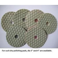 Quality Dry Polishing Pads for Granite and Concrete (Diamond Grits# 50 ~ Buff) for sale