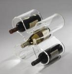 Buy cheap Good Quality 5 Bottle Acryllic Wine Racks With Customer's Logo product