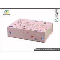 Buy cheap Newly Design Folding Gift Boxes Charming Black Printing Easy Disassembled product