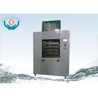 China Pass Through Automatic Ultrasonic Washer For Surgical Instruments With Spraying System on sale