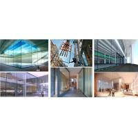 Buy cheap Decorative Flat Tempered Glass Panels For Air Conditioned Buildings product